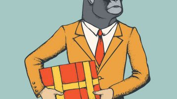 history of gift giving from monkeys to people