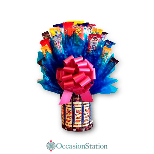 Heath Bar Candy Bouquet